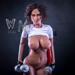 Große Brust Sexpuppe